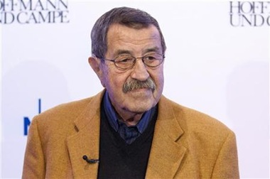 German-author-Grass-says-Israel-endangers-world-peace