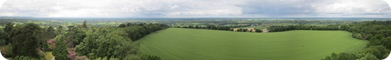 hawkstone follies panorama