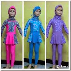 harga baju renang muslimah anak