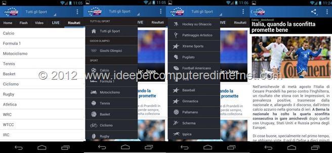 applicazione-android-eurosposrt
