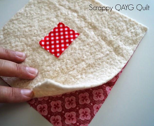 Scrappy QAYG Quilt 1