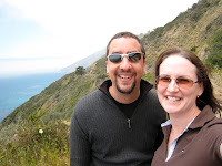Gerrod and Kristy at Big Sur