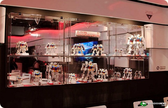 Gunpla Display