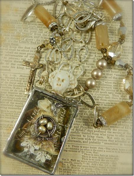 Diana's Briar Rose Necklace