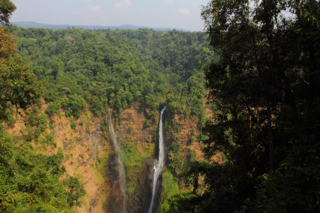The very beautiful and green Tad Fane Waterfall, Bolavan Plateau, Laos