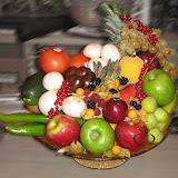Cesta de Frutas para regalo Colección 2011 De la Huerta