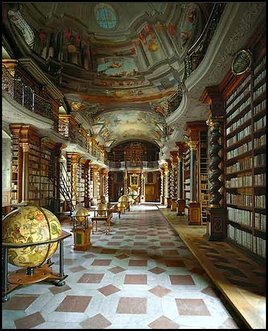 Monastère de Strahov - Bibliothèque théologique, Prague, République tchèque -3.bmp