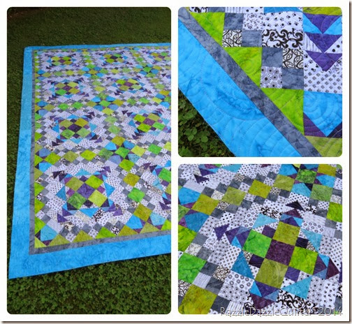 Sally quilt collage