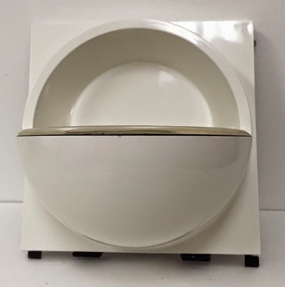 Quadrat soap dish Hammarplast Sweden soap dish front