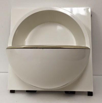 Quadrat soap dish Hammarplast Sweden soap dish front