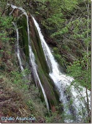 Cascadas de Tobería - Andoin