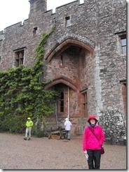 goat muncaster castle and me