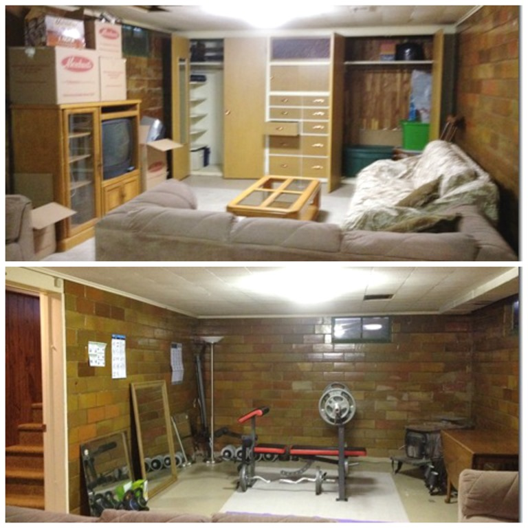 basement Collage
