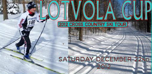 Lotvola Cup in December this year! Think Snow!