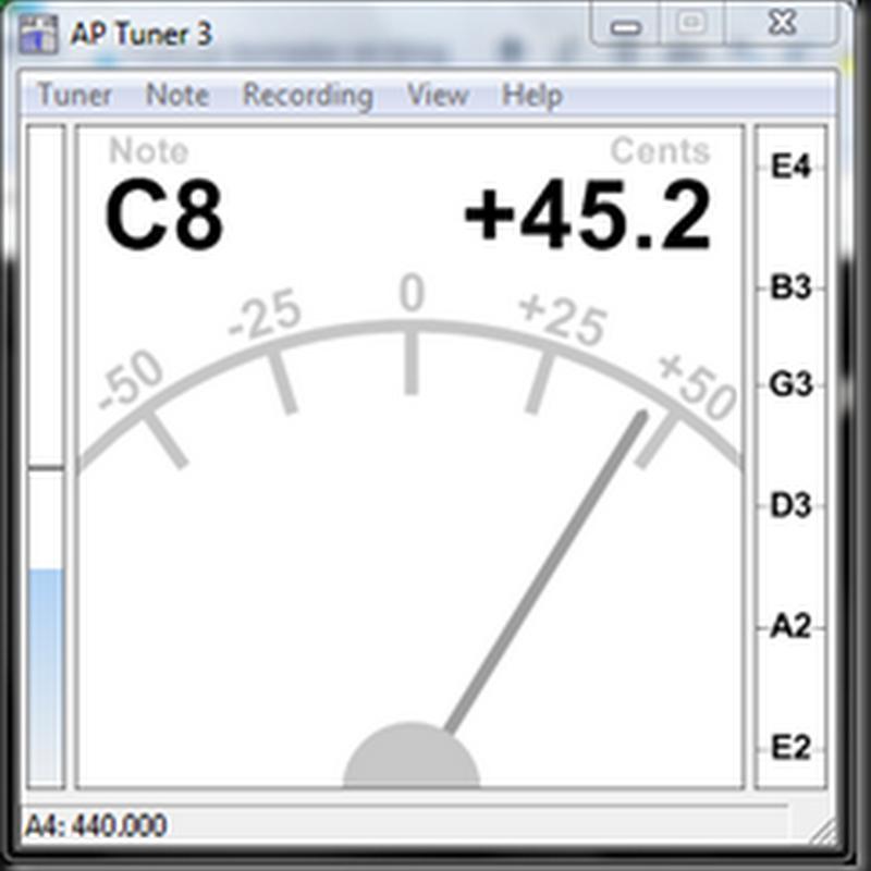 AP Tuner - excelente afinador gratuito