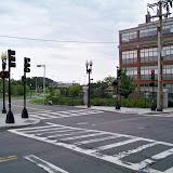 Entrance to East Boston Memorial Park.