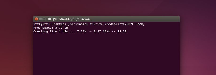 F3 in Ubuntu Linux