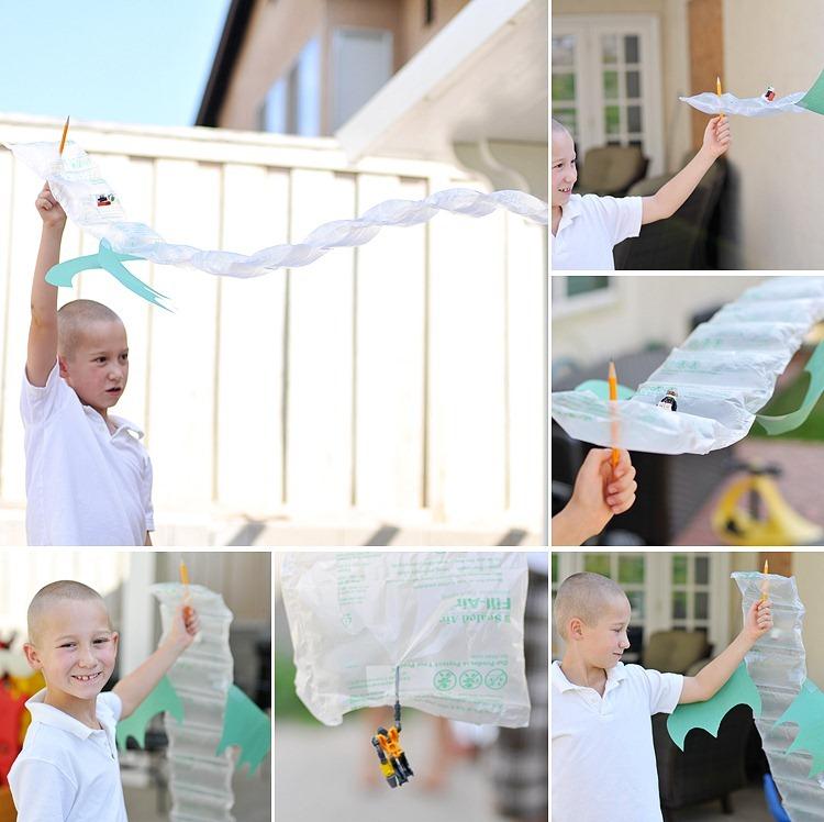 Bubble Dragon Collage