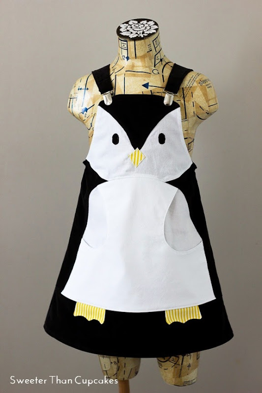 Penquin Dress for Project Run & Play