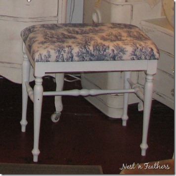0411 Toile Bench AFTER