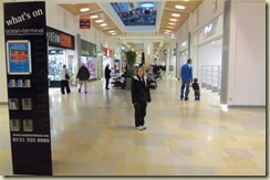 Ellen at Ocean Terminal Mall in Leith (Small)