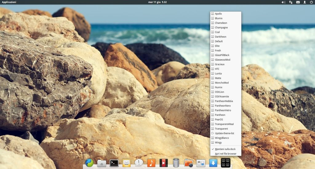 Plank Themer in elementary OS