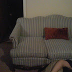 Potential Sofa #1, Don't mind the person in the photo.JPG