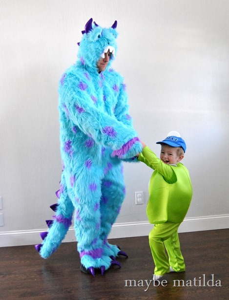 Monsters University Halloween Costumes