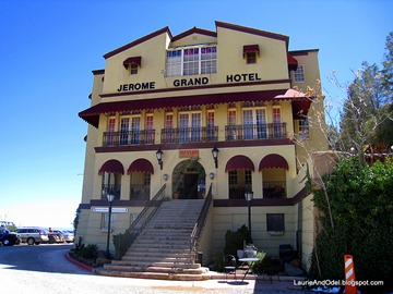 Front of Jerome Grand Hotel