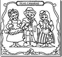 magos canarios colorear 1