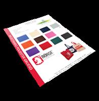 Muestrario de colores de Poliester Grueso