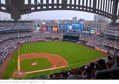 'Yankee Stadium Aug 12, 2009' photo (c) 2009, John Dalton - license: http://creativecommons.org/licenses/by-sa/2.0/