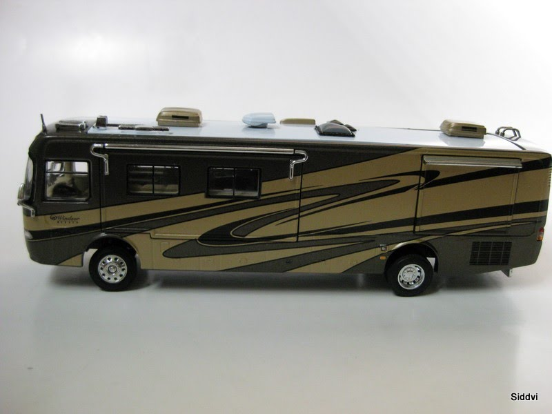 Auto diecast scale models mobile home rv auto diecast models
