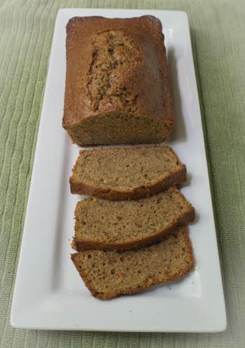 Einkorn Zucchini Bread