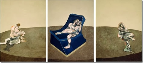 three figures - francis bacon