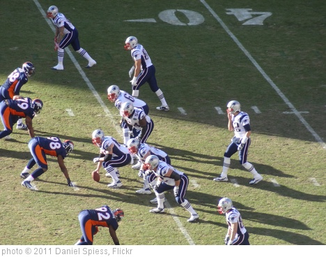 'Denver vs New England 2011' photo (c) 2011, Daniel Spiess - license: http://creativecommons.org/licenses/by-sa/2.0/
