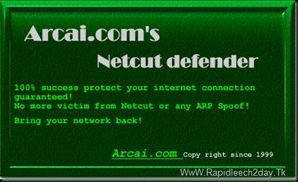 about arcai.com's netcut-defender 2.1.1