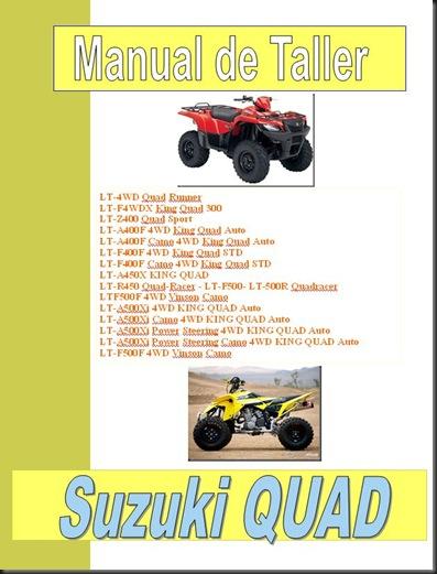 02manual taller suzuki lt quad