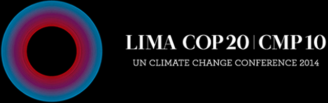 Logo for the UN Climate Change Conference, held in Lima, Peru in 2014. Graphic: Lima COP20