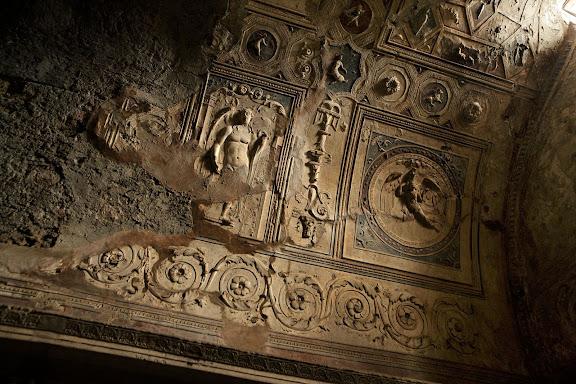 Termas del forum. Tepidarium. Antigua ciudad romana de Pompeya. Pompeya, Italia