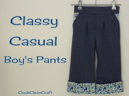 Classy Casual Boy's Pants (1)