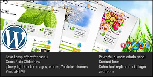Naturel Premium Wordpress Theme - Business Corporate