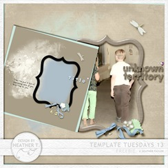 Digiscrap template