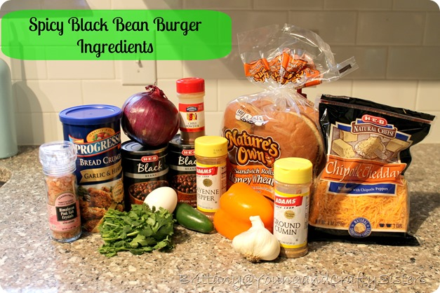 Black Bean Burger 1