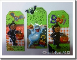 Halloween Trick or Treat Bags with tags. 8