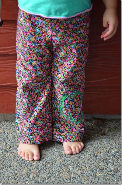 Lu's Flower Pants 002