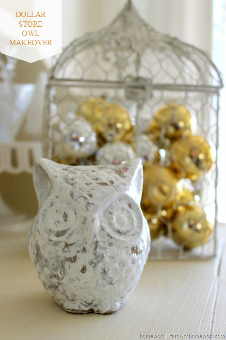 DIY Crackle Paint Owl via homework (11)