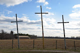 """Ohio Crosses"" - copyright David Thompson"