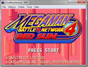 Download GBA Megaman Battle Network 4 Red Sun English for PC (Emulator + Rom)