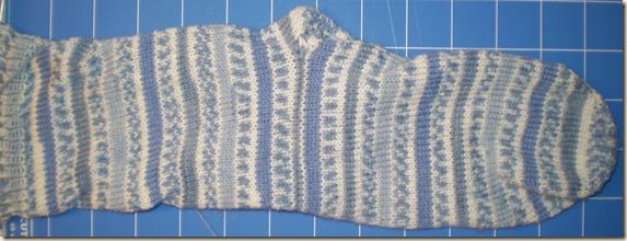 2011 soft blue socks